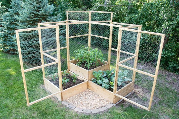 Anleitung: Erstellen Sie einen modularen, kratzfesten Gemüsegarten