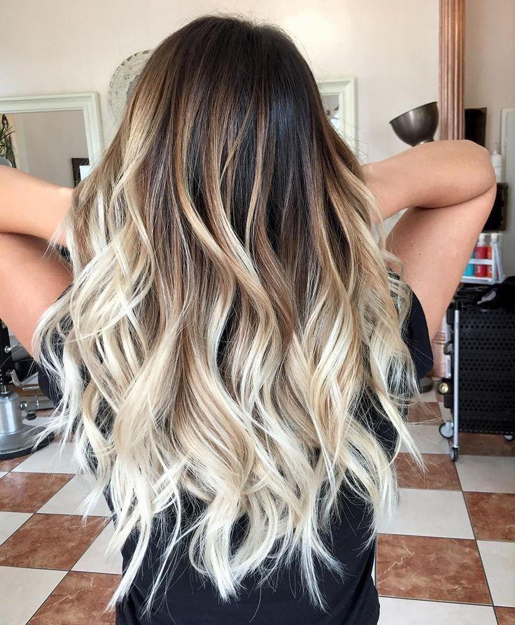 10 Mittellanges Haarfarbe Himmel – Beige – Brown – Blonde & Grey Blends – #beige…