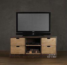 Чердак стиле из кованого железа античный французский в стиле кантри европейско-американский стиль ретро сделать старый телевизор кабинет(China (Mainland))