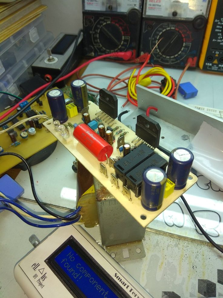 Bridge Lm3886 Gainclone Amplifier  Ifi_Project by_elL∆bs