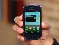 Basic Android skills, low off-contract price The $129.99 Samsung Galaxy Discover for Cricket Wireless serves up Android Ice Cream Sandwich without a binding wireless contract.