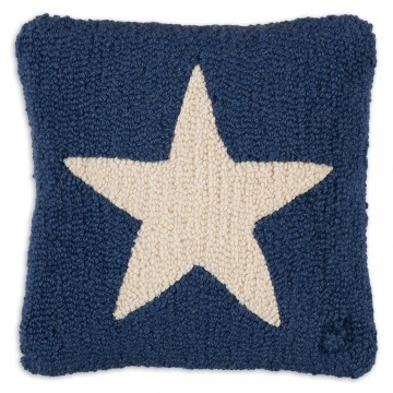 White Star on Blue