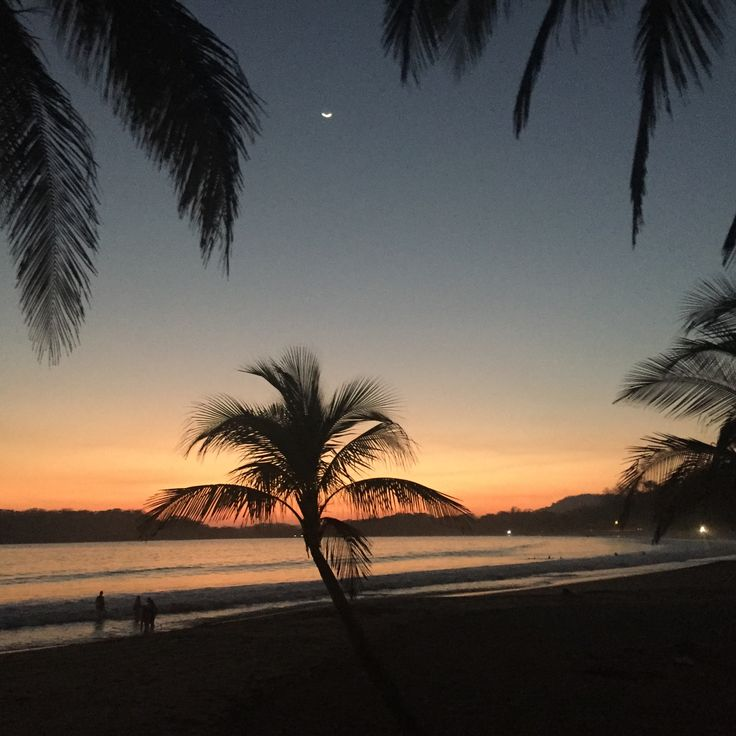 Sunsets costa rica black bikini