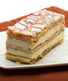 .French Pastry Recipes - Dough, Fillings, and Pastries   Millefeuille