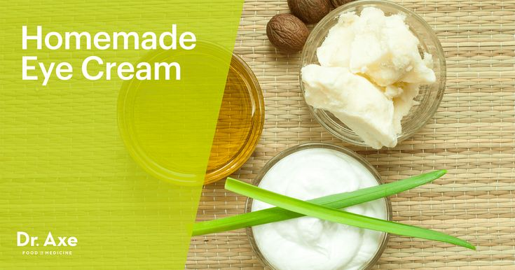 As we age, our skin becomes less resilient and results in wrinkles, especially around the eyes. But this natural homemade eye cream can erase the damage.