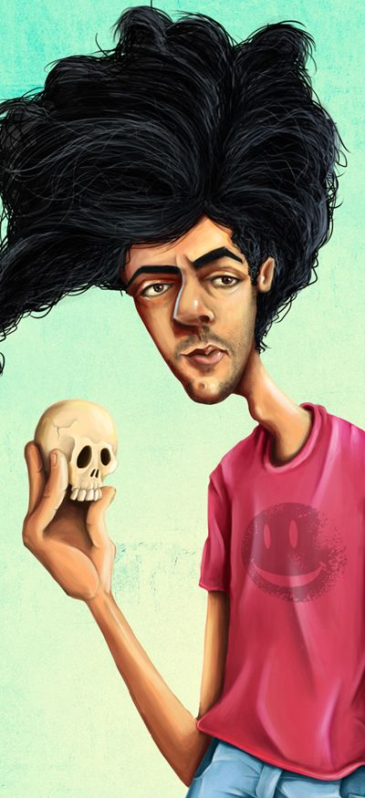 Character Design by Mike Koubou, via Behance caricature, cartoon, character, illustration, color, character design, sketch, painting, digital, art