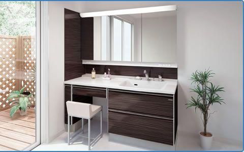 お部屋に合わせるプランバリエーション   洗面化粧台   製品情報   タカラスタンダード 「きれい」と暮らそう、高品位ホーロー。