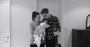 what a tear jerker! such a cute bump to baby video