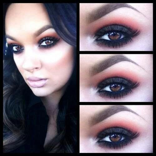 Party Makeup For Dark Brown Eyes - Mugeek Vidalondon
