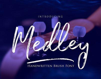 "Check out new work on my @Behance portfolio: ""Medley Script Font"" http://be.net/gallery/52826443/Medley-Script-Font"