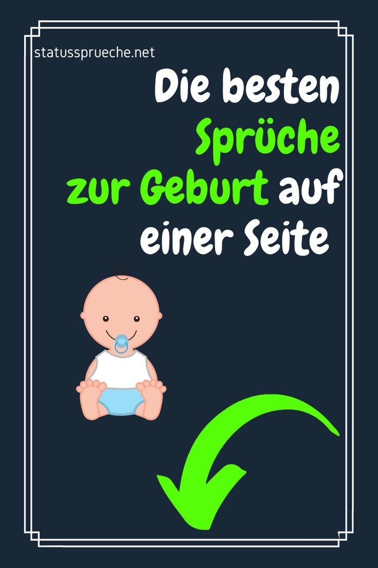 Sprüche zur Geburt Junge, Mädchen, Zwillinge | Sprüche zur ...