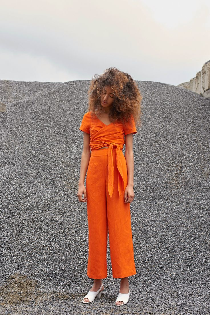Mara Hoffman Resort 2018 - Orange