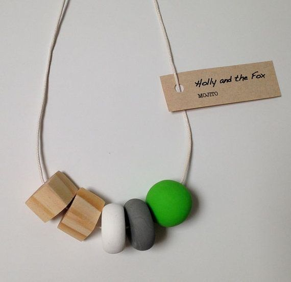 MOJITO Clay Bead Necklace