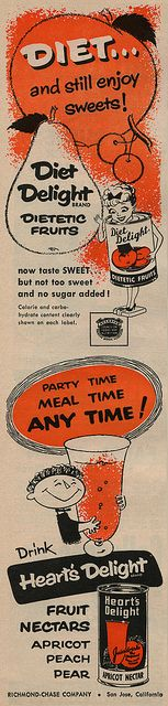 Diet and still enjoy sweets with Diet Delight! This brand was destroyed by a health scare over artificial sweeteners.