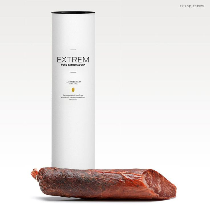 Lomito, Extrem Puro Extremadura Packaging.