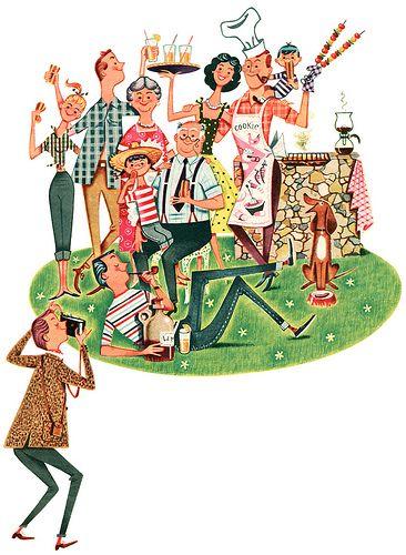1957 illustration by Ferguson Dewar   Flickr - Photo Sharing!