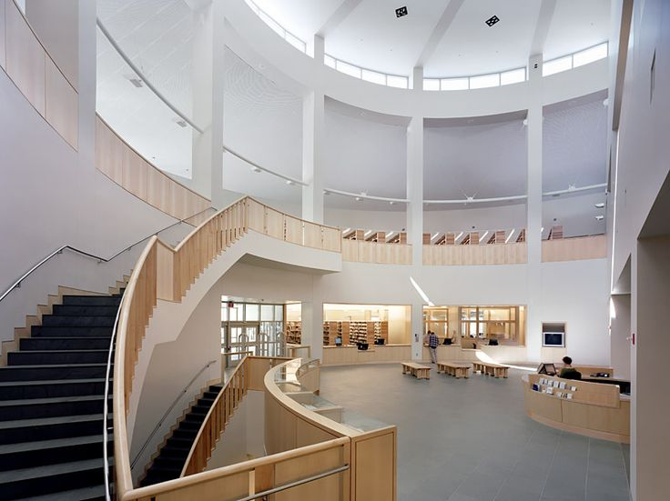 Middlebury College Library, Middlebury VT | Gwathmey Siegel Kaufman Architects