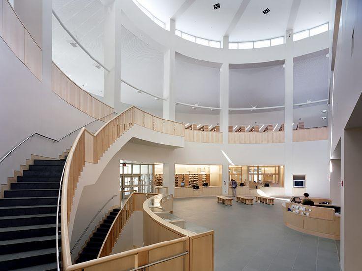 Middlebury College Library, Middlebury VT   Gwathmey Siegel Kaufman Architects