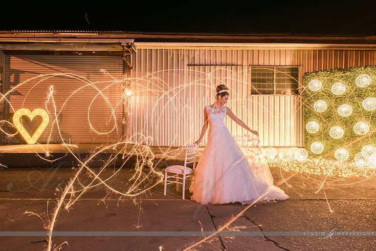 In the hushed twilight a magical styling story comes to light. Style it up. Image Credit: Studio Impressions Photography. Model: Sophie/Tamblyn Models http://www.queenslandbrides.com.au/behind-the-lens-studio-impressions/