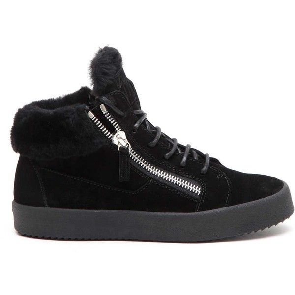 GIUSEPPE ZANOTTI DESIGN 'Logoball' mid top sneakers (32.005 RUB) ❤ liked on Polyvore featuring shoes, sneakers, giuseppe zanotti trainers, giuseppe zanotti, giuseppe zanotti sneakers and giuseppe zanotti shoes