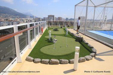 Seven Seas Explorer - Recreation Area - Golf