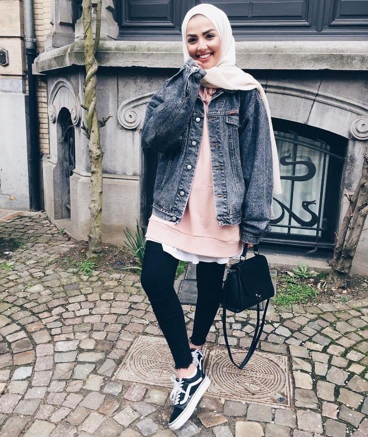 Mix And Match - Tampil Casual di Akhir Pekan . . . #hijabfashion #hijabstyle #hijabers #hijab