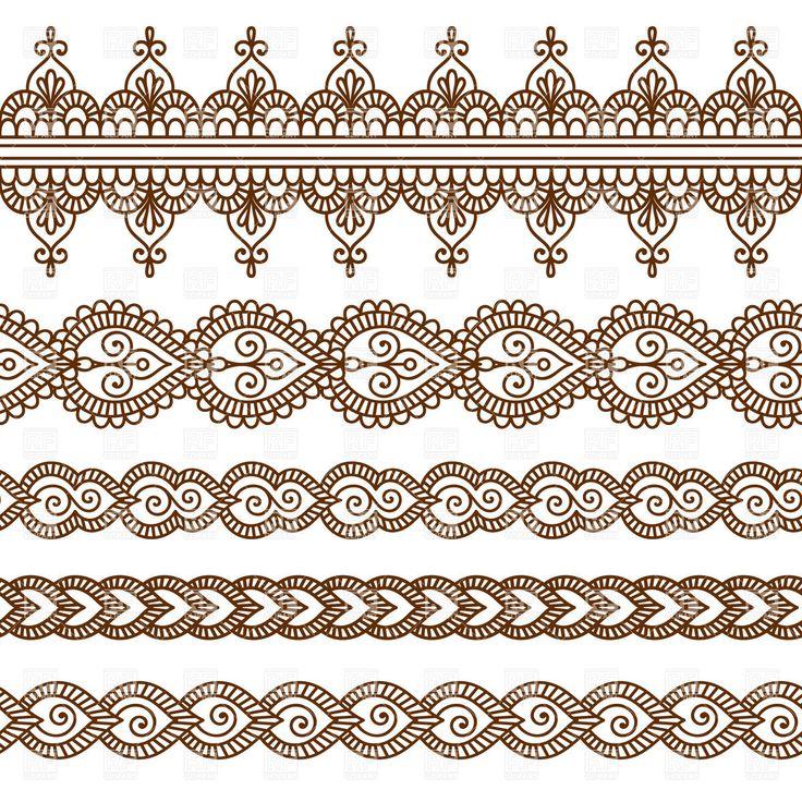 set-of-five-oriental-borders-Download-Royalty-free-Vector-File-EPS-57586.jpg (1200×1200)