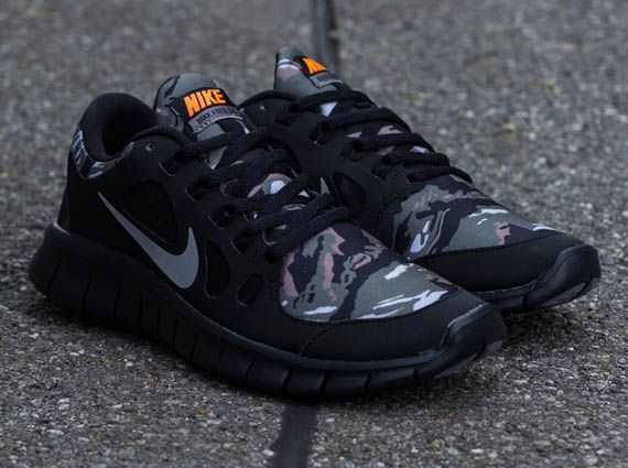 nike free run 5 0 gs camo netting