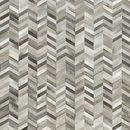Teppiche - Patchwork Teppich aus grau-weißem Kuhfell! - ein Designerstück von Suggaloaf bei DaWanda