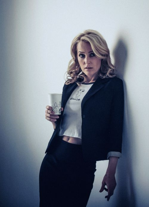 Gillian Anderson by James Hickey 2014.