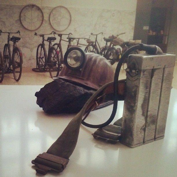 #invasionidigitali al @Museo del Carbone Grande Miniera di Serbariu di #Carbonia. Il kit del #minatore #igersardegna #invasionidigitali #invasionisardegna @Igers Sardegna Web Instagram User » Followgram