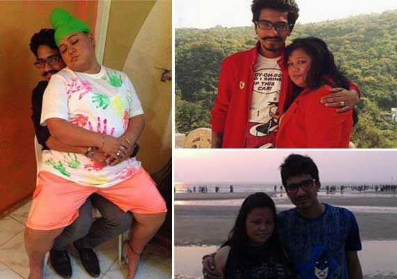 Comedian Bharti and her rumoured fiance-Comedy Circus scriptwriter's unseen pics