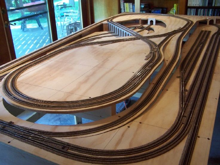 8 Best Train Track Layout Images On Pinterest