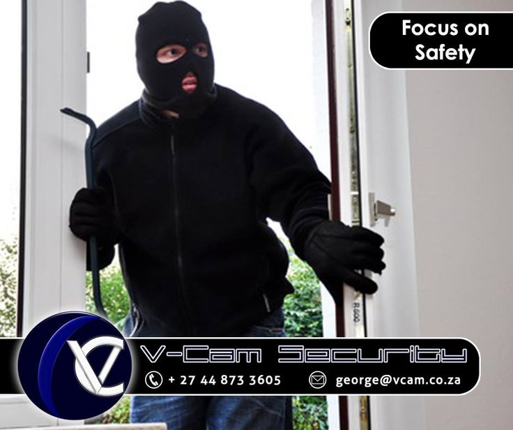 #SecurityTip: Lock up your home, even if you go out only for a short time. Many burglars just walk in through an unlocked door or window. #cctv #vcam