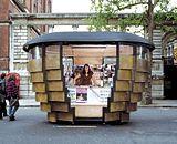 FFFFOUND! | Heatherwick's Paperhouse kiosks open for business in Kensington - Building Design