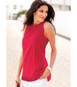 blusas rojas de moda 2016