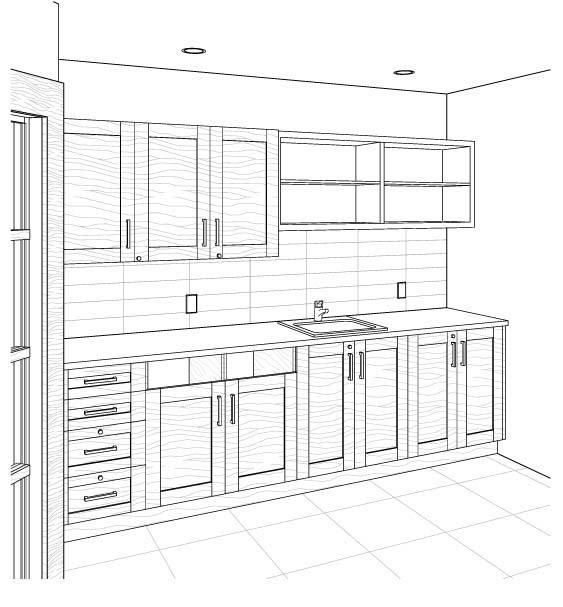 Projet cuisine 3d amazing simulateur de cuisine ikea with - Cuisine plus rennes ...