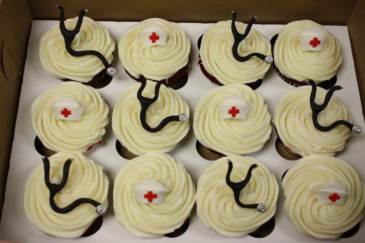 Cupcakes Take The Cake: Medical cupcakes with stethoscopes and raspberry lemonade cupcakes for sale