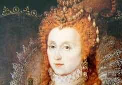Elisabetta I, la regina vergine d'Inghilterra Elisabetta I, regina d'Inghilterra dal 1588, era innamorata di un uomo già sposato su cui si sono concentrati i sospetti per la morte della moglie. La regina lo ebbe come amante e morì senza procrear #storia #inghilterra #elisabettai