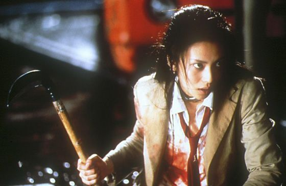 """Mitsuko Souma """"Kou Shibasaki"""" Battle Royale (2000)"""