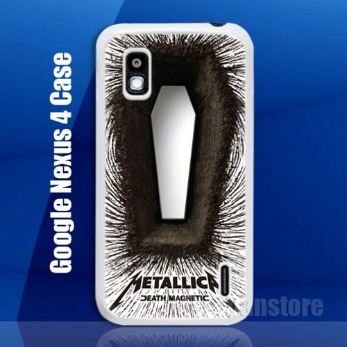 Metallica Death Magnetic CD Google Nexus 4 Case Cover