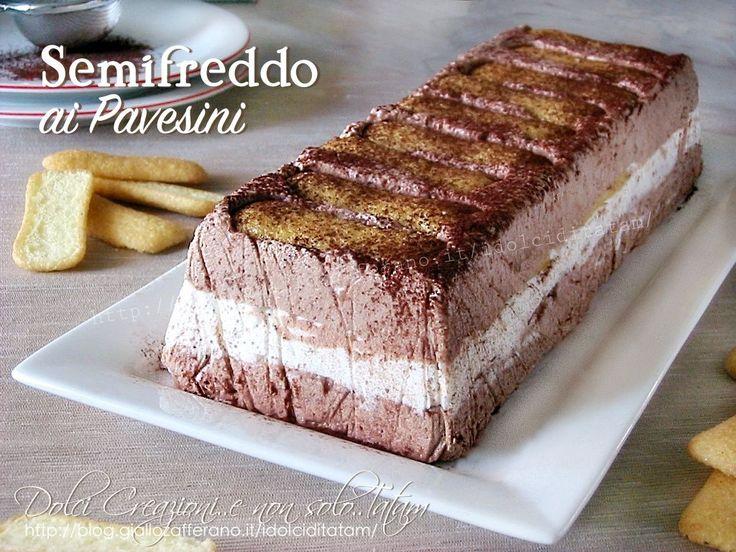 Semifreddo ai pavesini: un goloso dolce al cucchiaio con una consistenza cremosa e fresca, che si scioglie in bocca. Si prepara velocemente e con pochi ...