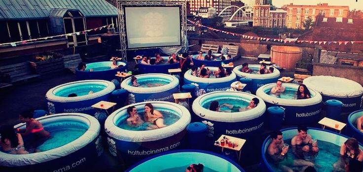 The Hot Tub Cinema is mankind's crowning achievement | Roadtrippers