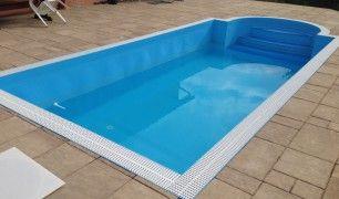 Venkovní plastové bazény