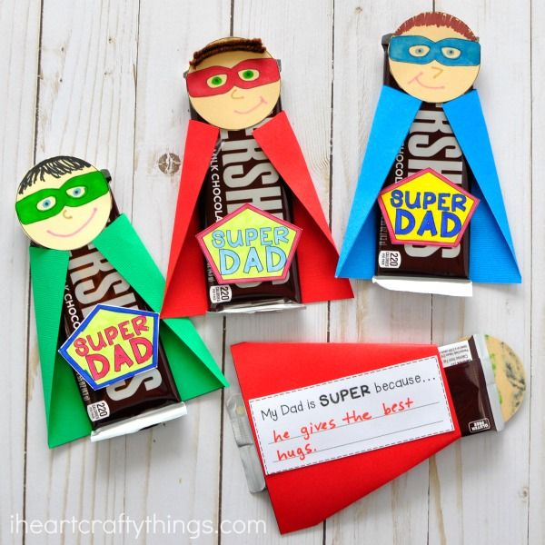 Super Dad Father's Day Gift | I Heart Crafty Things