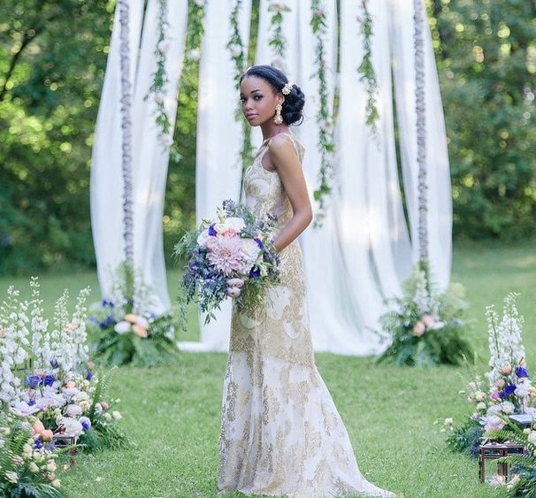 Outdoor Wedding Ceremony Eau Claire: Gorgeous: Claire Pettibone 'Alchemy' Wedding Dress, Still