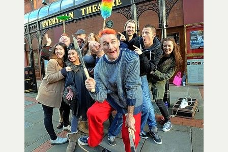 Rehearsals start for Aladdin panto at Cheltenham's Everyman Theatre