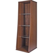 Sefour Vinyl Record Storage Unit Tobacco Walnut