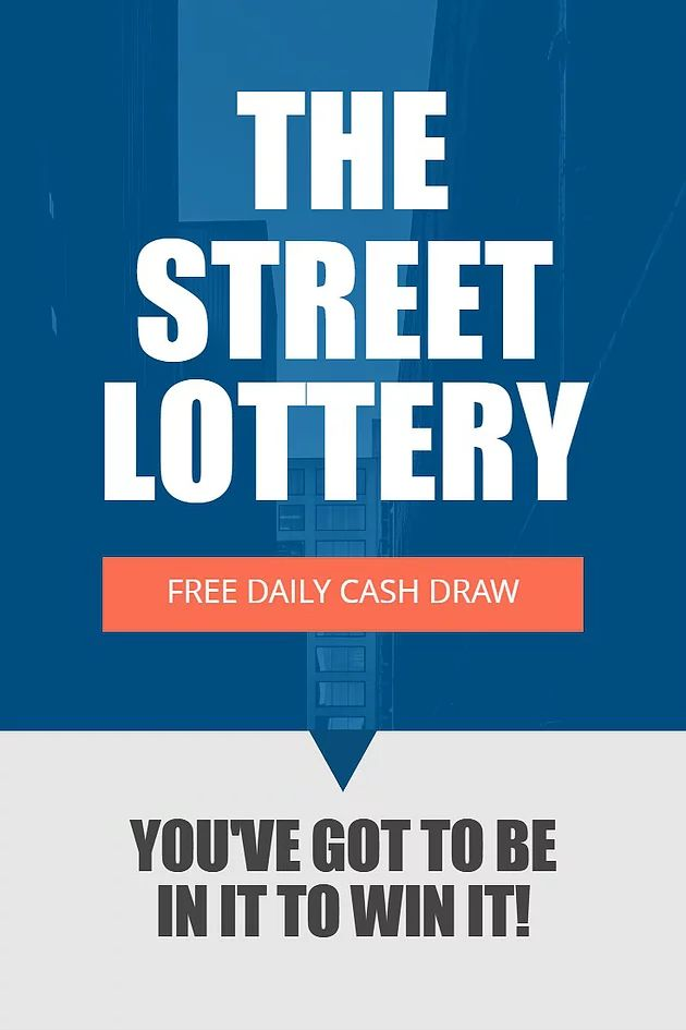 The Street Lottery is another 100% free to enter, ad-funded daily lottery that can be entered anywhere in the world! - Each day a street name and number i