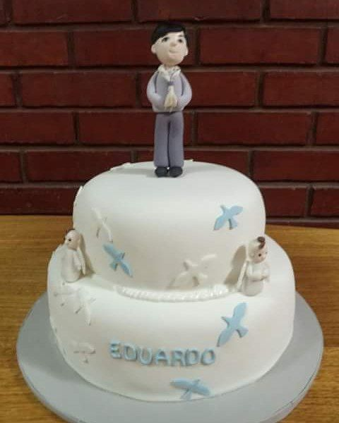 #Comunion #Fondant #Cake by Volován Productos #Puq #Chile #VolovanProductos